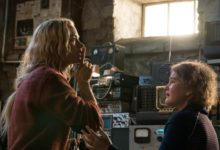Emily Blunt e Millicent Simmonds in A Quiet Place - Un posto traquillo