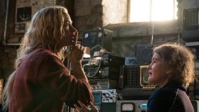 Emily Blunt e Millicent Simmonds in A Quiet Place - Un posto traquillo