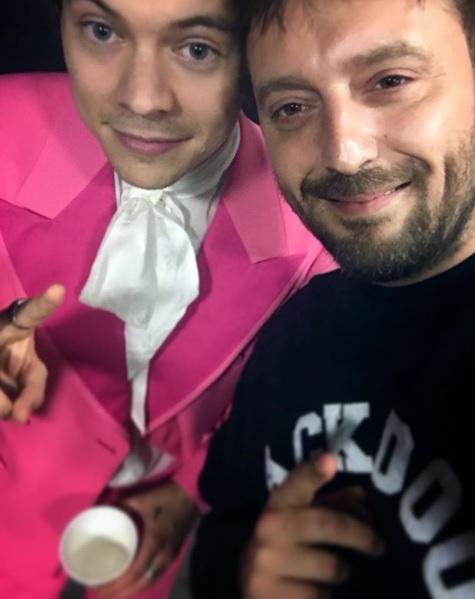 Harry Styles e Cesare Cremonini