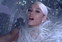 """Ariana Grande nel video """"No Tears Left to Cry"""""""