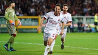 Bonaventura esulta dopo la rete siglata contro il Torino, il 18 aprile