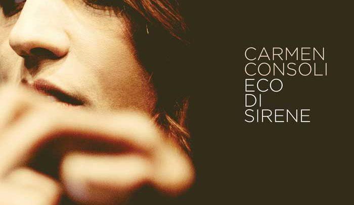 copertina album eco di sirene carmen consoli