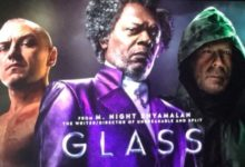 "McAvoy, Jackson e Willis ""Glass"" foto"