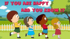 canzoni per bambini - if you are happy and you know it clap your hands
