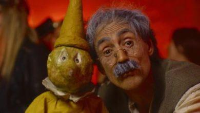 Mastro Geppetto nel video di Edoardo Bennato