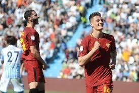 primo goal di Schick con la Roma