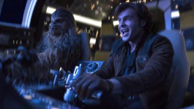 """Una scena dal film """"Solo- A Star Wars Story"""""""
