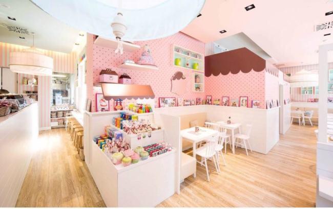 Una foto del locale Vanilla Bakery a Milano