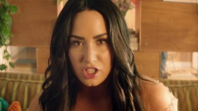 Demi Lovato foto video musicale Solo