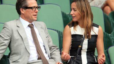 Hugh Grant e la sua futura moglie Anna