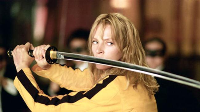 """Una Thurman in """"Kill Bill"""""""