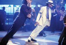 """Michael Jackson """"45° Degree Lean"""" foto"""