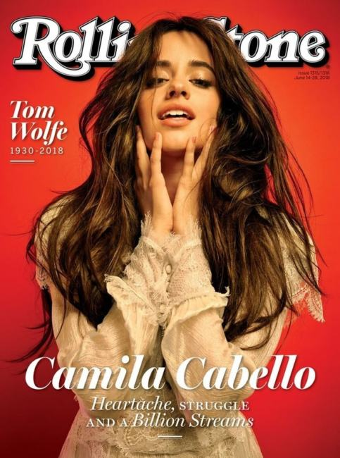 Camila Cabello copertina Rolling Stone foto