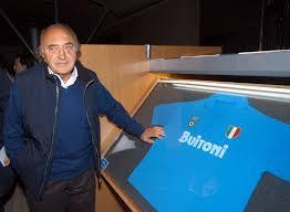 Corrado Ferlaino ex Presidente del Napoli dal 1969 al 1971 e dal 1983 al 1993