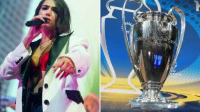 Dua Lipa Champions League