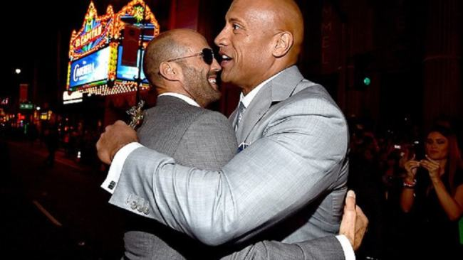 jason statham fast and furious spin off con the rock