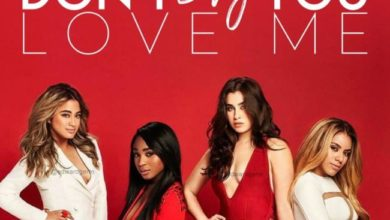 Fifth Harmony Don't Say You Love Me