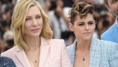 Cate Blanchett e Kristen Stewart festival di cannes marcia delle donne attrici