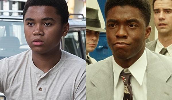 Chosen Jacobs e Chadwick Boseman