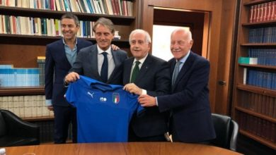 Roberto Mancini è il nuovo c.t. dell'Italia.