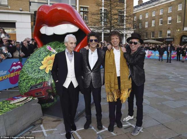 abiti The Rolling Stones negozi Inghilterra