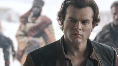 """Alden Ehrenreich in """"Solo: a star wars story"""" 2018"""