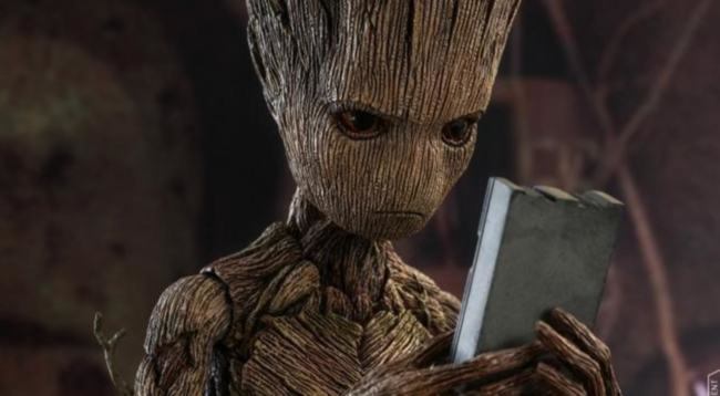 "Groot ""Avengers"" foto 2018"