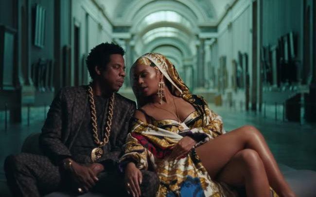 Foto dal video di Apeshit - Beyoncé e Jay-Z