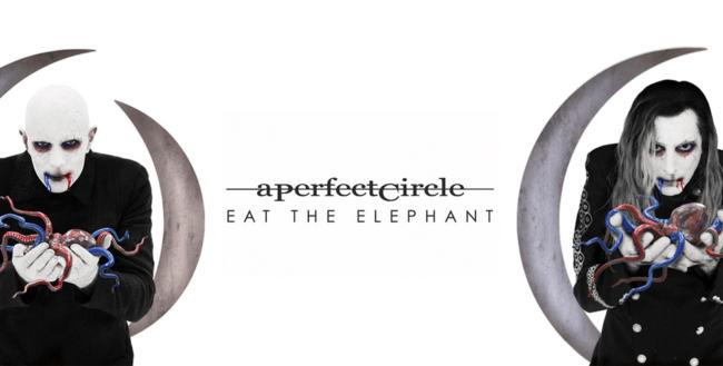 a perfect circle -eat the elephant album cover