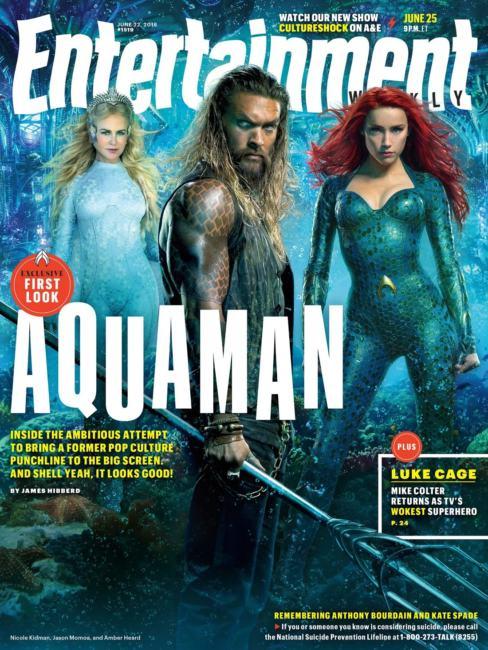 La copertina di Entertainment Weekly