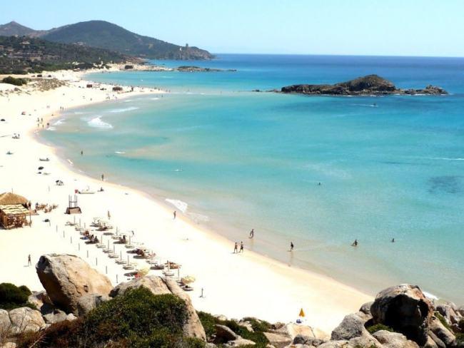 Litorale di Chia - Sardegna