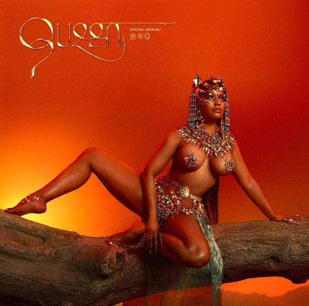 Album Queen copertina Nicki Minaj foto