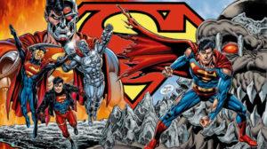 la morte di Superman e il regno dei Supermen dai fumetti al film animato