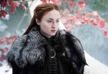 Sophie Turner nel ruolo di Sansa Stark