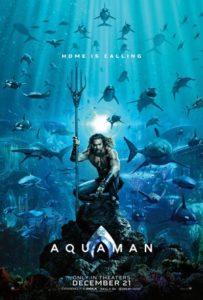 recensione Aquaman . Primo poster ufficiale