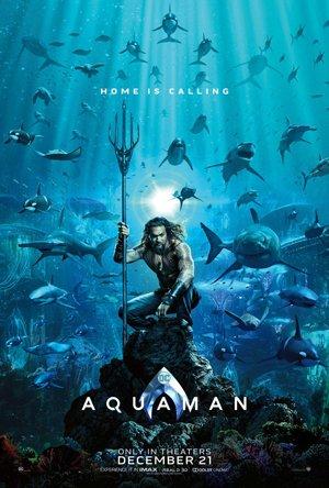 Primo poster ufficiale di Aquaman