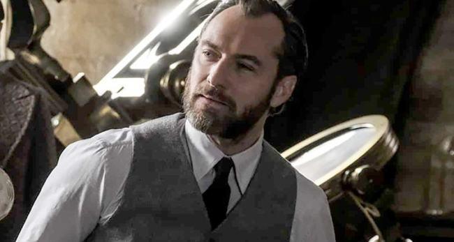 """Jude Law in """"Animali Fantastici 2"""""""