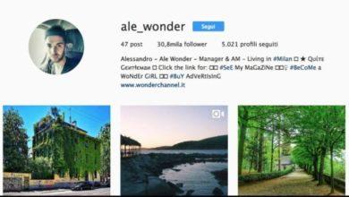 aumentare follower instagram - Profilo Alessandro Aru