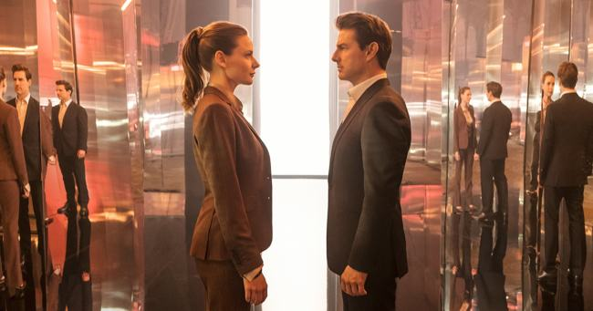 Foto con Tom Cruise e Rebecca Ferguson in Mission: Impossible - Fallout