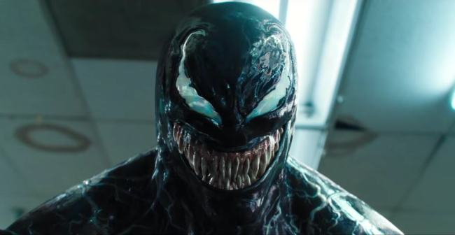 Tom Hardy interpreta Venom - foto film