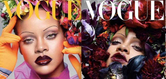 Rihanna icona protagonista di British Vogue