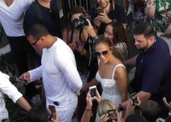 Jennifer Lopez a Capri