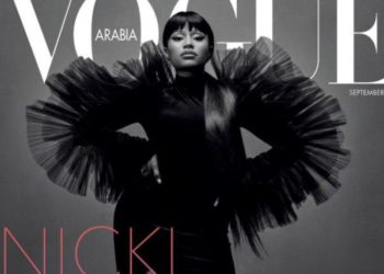 Nicki Minaj sulla copertina di Vogue Arabia