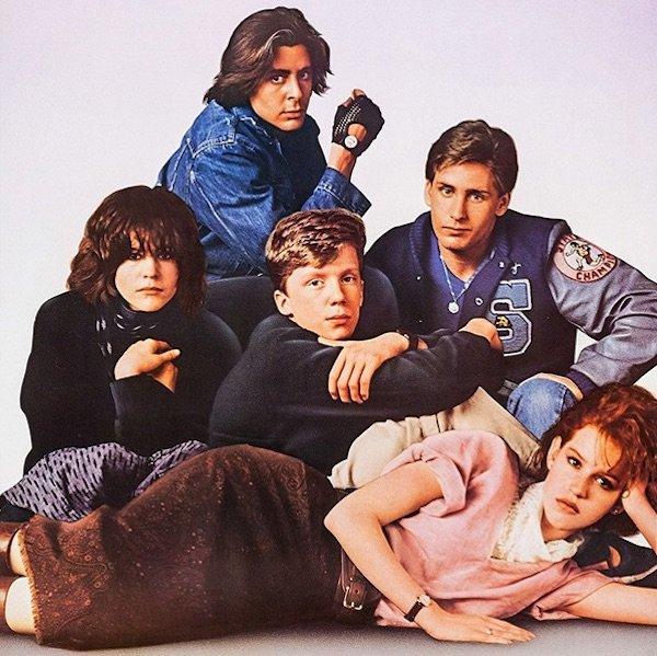 """Il cast di """"Breakfast Club"""""""