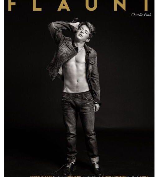 Charlie Puth copertina Flaunt Magazine