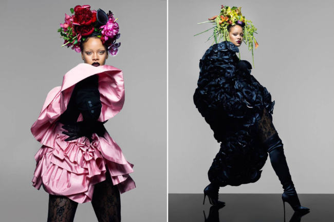 Rihanna per British Vogue