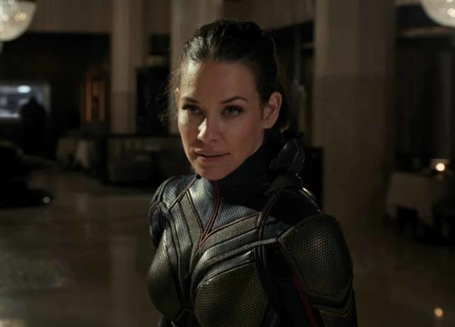 "Evangeline Lilly nel film ""Ant-Man and The Wasp"""