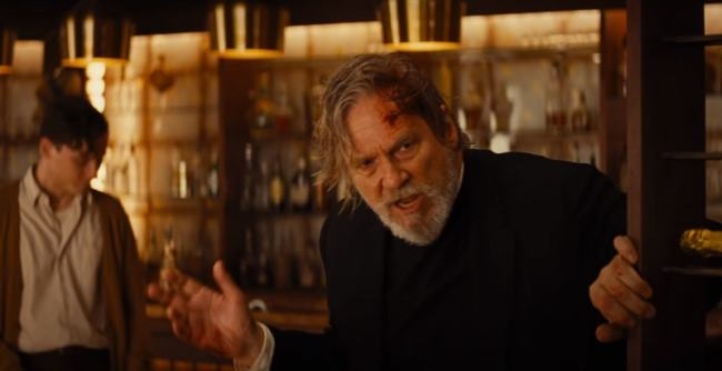 Jeff Bridges nel film 7 Sconosciuti a El Royale