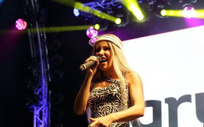 baby k sul palco nel 2018