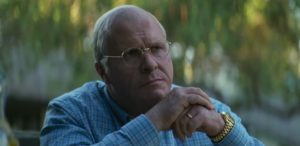Christian Bale come Dick Cheney in Vice